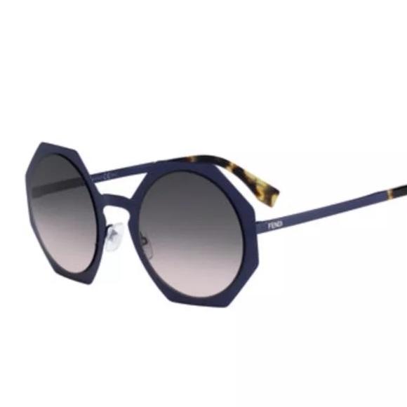 ed60270a15 Fendi Accessories - New Fendi Octagon Shaped Sunglasses
